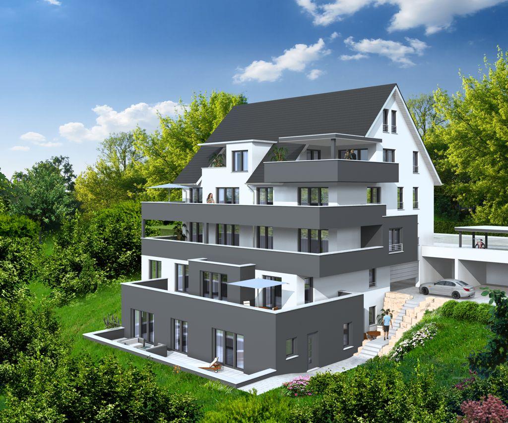 hs bau gmbh crailsheim jagst terrassen wohnung 3. Black Bedroom Furniture Sets. Home Design Ideas