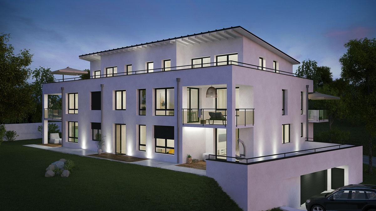 HS Bau GmbH Crailsheim - Mehrfamilienhaus Rot am See